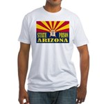 Arizona State Prison Fitted T-Shirt