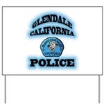 Glendale PD Gang Squad Yard Sign