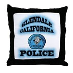 Glendale PD Gang Squad Throw Pillow