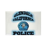 Glendale PD Gang Squad Rectangle Magnet