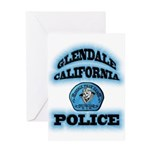 Glendale PD Gang Squad Greeting Card