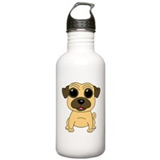 Fawn Pug Water Bottle