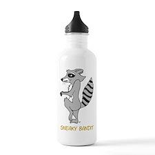 Sneaky Raccoon Water Bottle