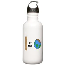 Ruler of the World Water Bottle