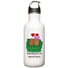 Couch Potato Love Water Bottle