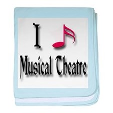 Love Musical Theatre baby blanket