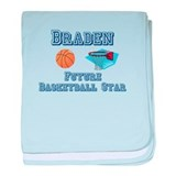Braden - Future Basketball St baby blanket