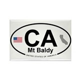 Mt Baldy Rectangle Magnet