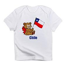 Chile Teddy Bear Infant T-Shirt
