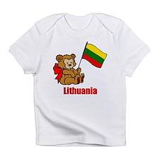 Lithuania Teddy Bear Infant T-Shirt