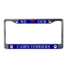 Blue We Love Our Cairn Terriers Frame