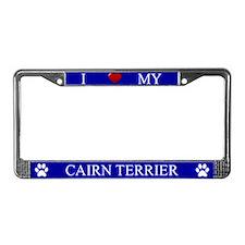 Blue I Love My Cairn Terrier Frame