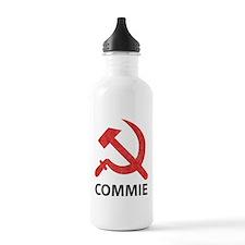 Vintage Commie Sports Water Bottle