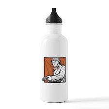 Soviet Soldier Sports Water Bottle