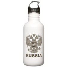 Vintage Russia Sports Water Bottle