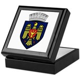 Chisinau Coat of Arms Keepsake Box