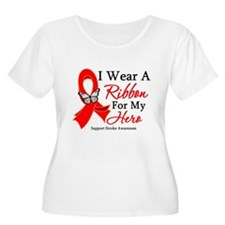 Stroke Ribbon Hero T-Shirt