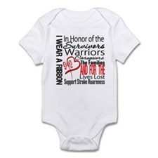 Stroke Ribbon Tribute Infant Bodysuit