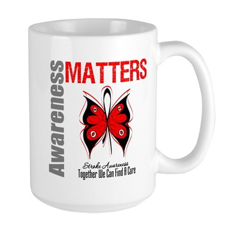 Stroke Awareness Matters Large Mug