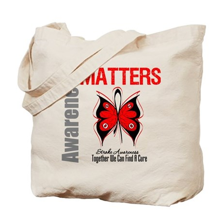 Stroke Awareness Matters Tote Bag
