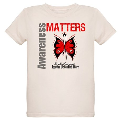 Stroke Awareness Matters Organic Kids T-Shirt