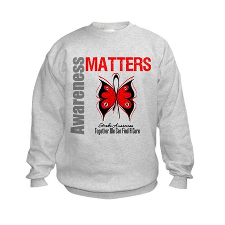 Stroke Awareness Matters Kids Sweatshirt