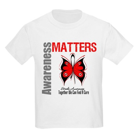 Stroke Awareness Matters Kids Light T-Shirt