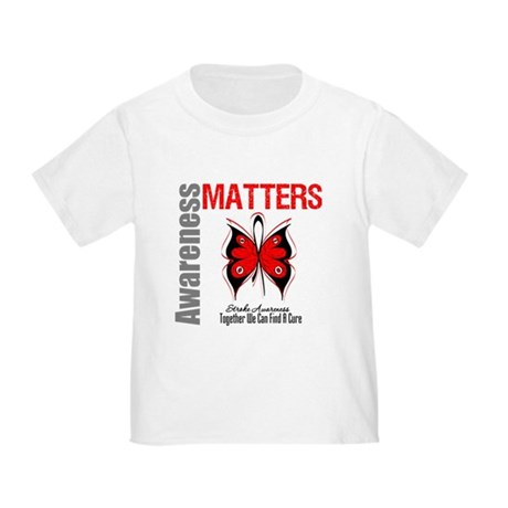 Stroke Awareness Matters Toddler T-Shirt