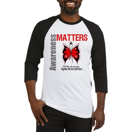 Stroke Awareness Matters Baseball Jersey