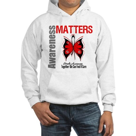 Stroke Awareness Matters Hooded Sweatshirt