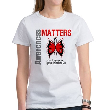 Stroke Awareness Matters Women's T-Shirt