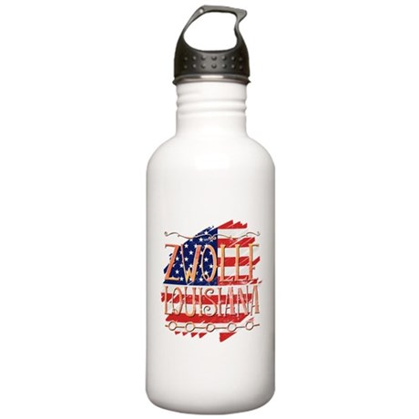 Stroke Mosaic Heart Thermos can cooler