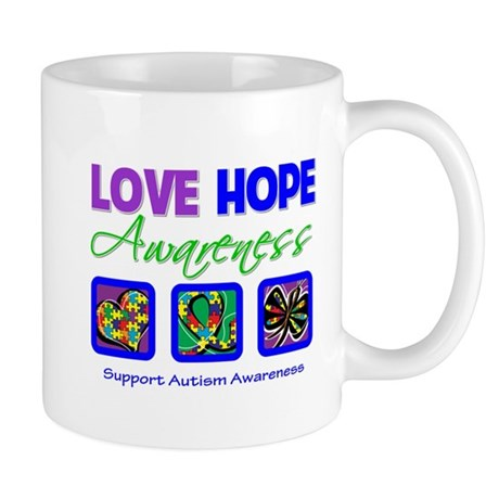 Autism Love Hope Mug