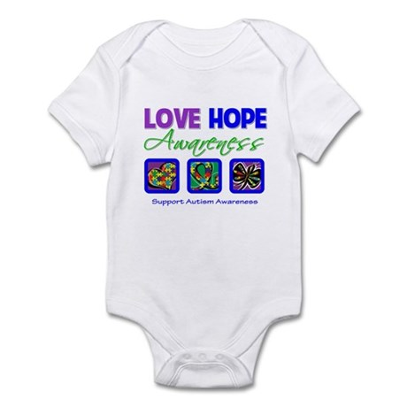 Autism Love Hope Infant Bodysuit