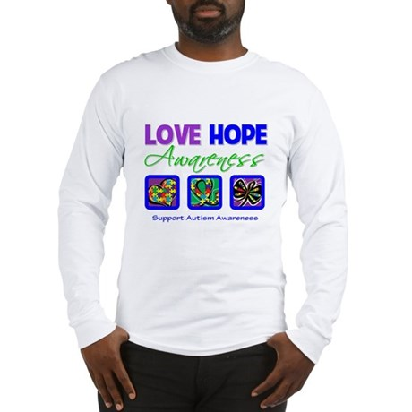 Autism Love Hope Long Sleeve T-Shirt