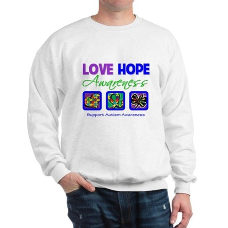 Autism Love Hope Sweatshirt
