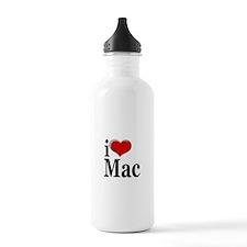 I Love Mac! Water Bottle