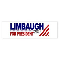 Rush Limbaugh 2012 Bumper Sticker