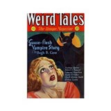 $4.99 Weird Vampire Tales Rectangle Magnet