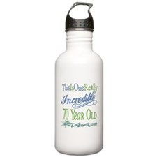 Incredible 70th Water Bottle