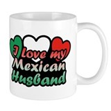 I Love My Mexican Husband Mug
