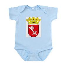 Bremen Coat of Arms Infant Creeper