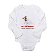 Grey's Anatomy Addict Long Sleeve Infant Bodysuit