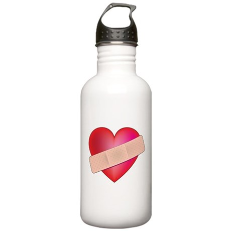 Healing Heart Stainless Water Bottle 1.0L
