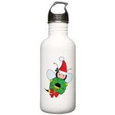 Bee Christmas Water Bottle