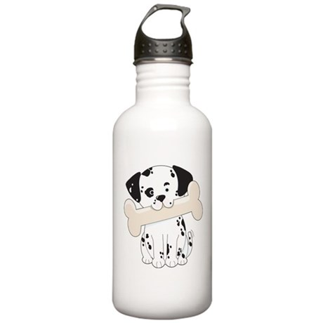 Dalmatian with Bone Stainless Water Bottle 1.0L
