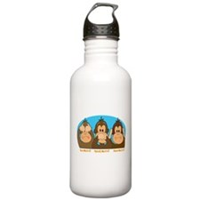 See,Speak,Hear No Evil Water Bottle