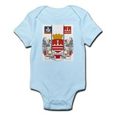 Belgrade Coat of Arms Infant Creeper