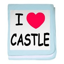 I heart Castle baby blanket