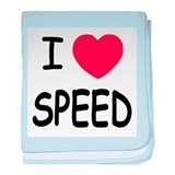 love speed baby blanket